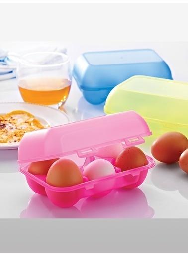 Piaff Home 6Lı Yumurta Saklama Kabı Renkli
